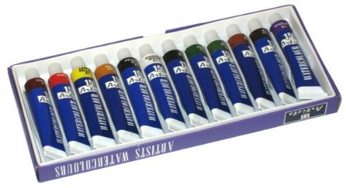 151 Water Colour Artists Paints